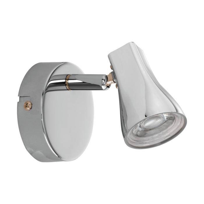 Настенно-потолочный светильник Eglo 97828, серый металлик светильник спот eglo dakar 87082