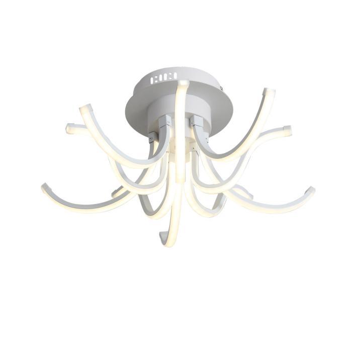 Потолочный светильник St Luce SL826.502.10, белыйSL826.502.10Потолочный светильник St Luce SL826.502.10 серии Finde в стиле модерн будет хорошим решением для квартиры. Размеры (Диаметр х Высота) 480х220 мм.
