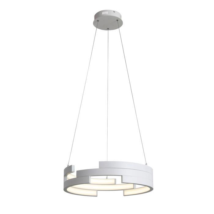 Подвесной светильник St Luce SL963.503.01, белыйSL963.503.01Подвесная люстра St Luce SL963.503.01 серии Genuine в стиле модерн даст комфортный свет в комнате. Размеры (Диаметр х Высота) 550х0 мм.