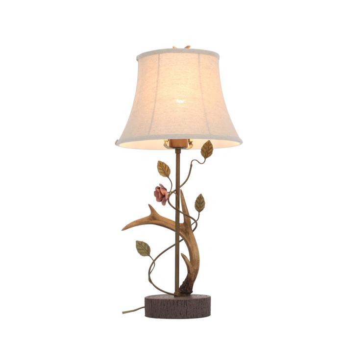 Настольный светильник St Luce SL347.304.01, коричневый лампа настольная декоративная st luce sl991 474 01 коричневый бежевый