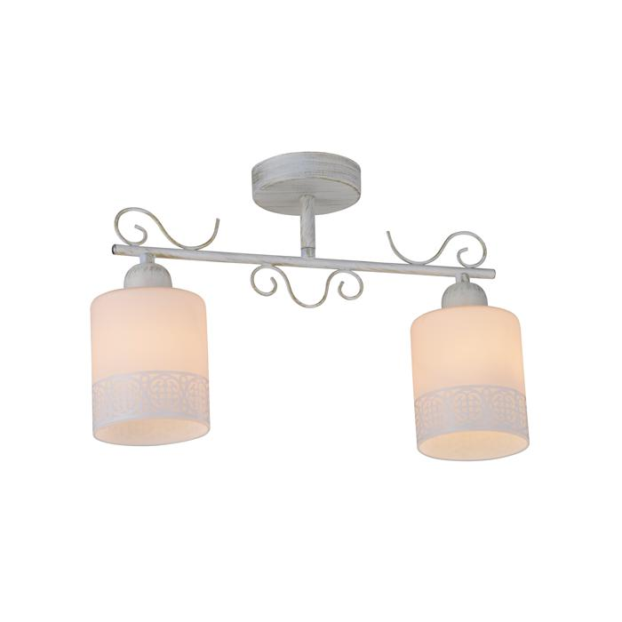 Потолочный светильник Idlamp 848/2PF-Whitepatina, белый цена