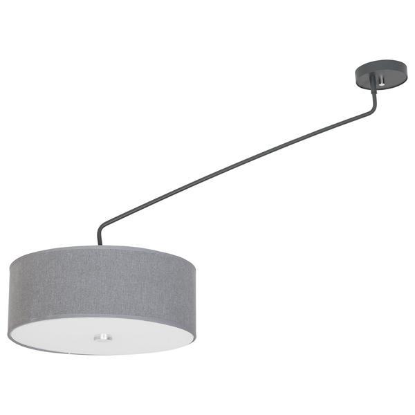 Потолочный светильник Nowodvorski 6540, серый6540Потолочная люстра Nowodvorski 6540 серии HAWK в современном стиле хорошо впишется в любой интерьер. Размеры (Диаметр х Высота) 410х600 мм.