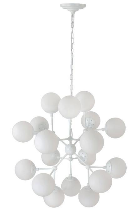 Подвесной светильник Crystal Lux MEDEA WHITE SP18, E27, 60 Вт подвесная люстра crystal lux medea sp12