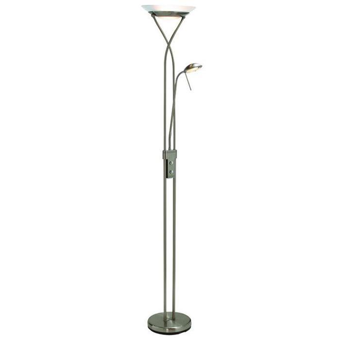 Напольный светильник Markslojd 112241, серебристый напольный светильник markslojd 106972 золотой