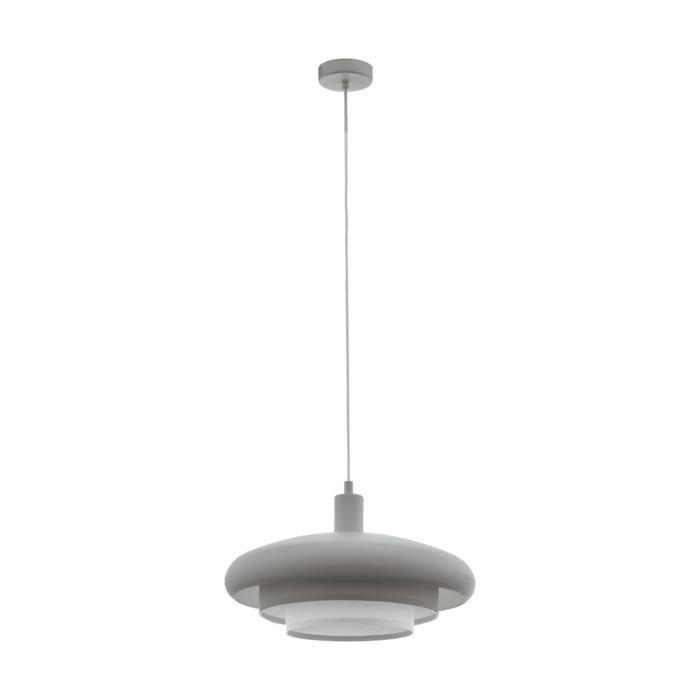 Подвесной светильник Eglo 97821, серый97821Подвесной светильник Eglo 97821 серии Alfaro хорошо впишется в любой интерьер. Размеры (Диаметр х Высота) 440х1100 мм.