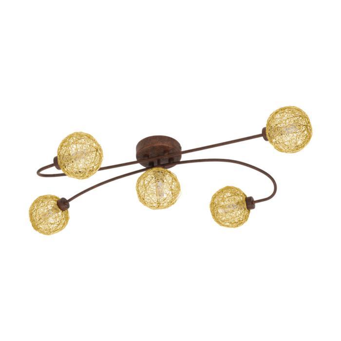 Потолочный светильник Eglo 97727, бронза потолочный светильник потолочный светильник champion бронза