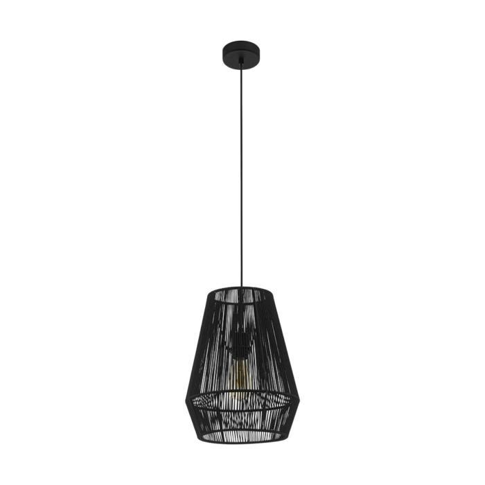 Подвесной светильник Eglo 97905, черный97905Подвесной светильник Eglo 97905 серии Palmones даст комфортный свет в комнате. Размеры (Диаметр х Высота) 300х1100 мм.