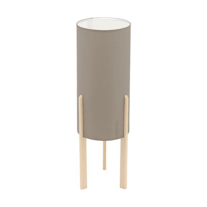 Настольный светильник Eglo 97894, коричневый97894Декоративная настольная лампа Eglo 97894 серии Campodino даст комфортный свет в комнате. Размеры (Диаметр х Высота) 160х500 мм.