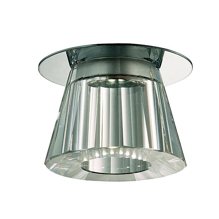 Встраиваемый светильник Novotech 357044, серый металлик357044Встраиваемый светильник с одной лампой Novotech 357044 серии Glitz в стиле модерн оживит ваш интерьер. Размеры (Диаметр х Высота) 80х70 мм.