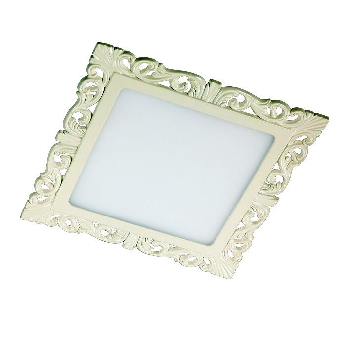 цена на Встраиваемый светильник Novotech 357286, белый