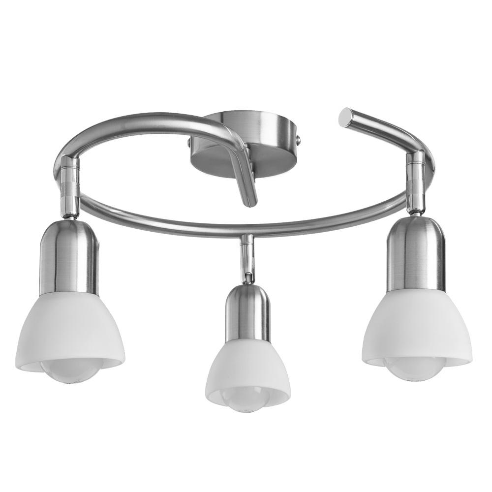 Настенно-потолочный светильник Arte Lamp A3115PL-3SS, серебристый цена