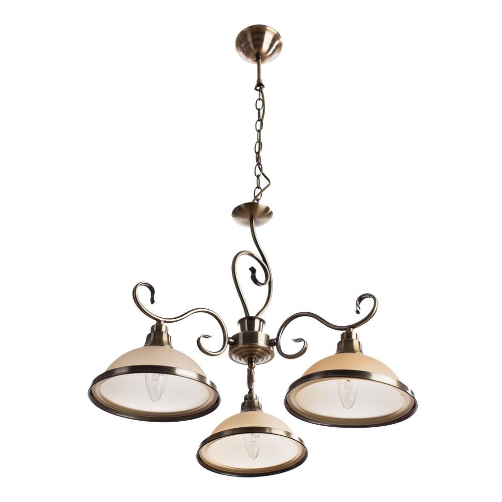 Подвесной светильник Arte Lamp A6905LM-3AB, бронза цены