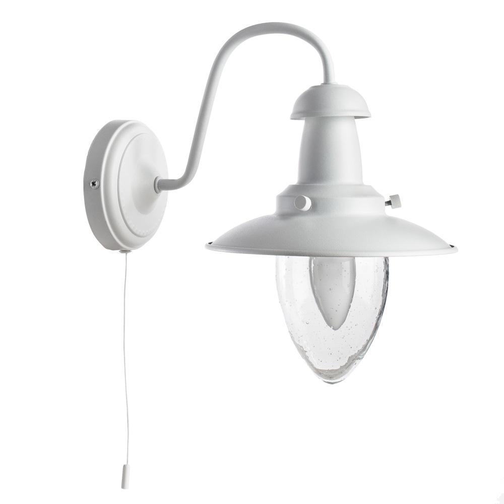 Бра Arte Lamp A5518AP-1WH, E27, 60 Вт