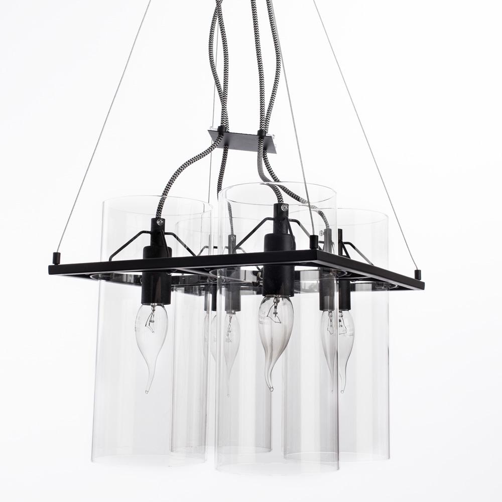 Подвесной светильник Arte Lamp A8586SP-4BK, черный arte lamp a4402pl 4bk