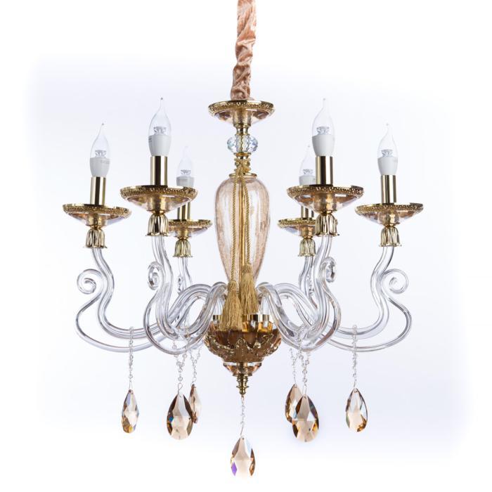 Подвесной светильник Divinare 5125/07 LM-6, медь светильник подвесной divinare simona 5125 11 lm 6 4620016105245