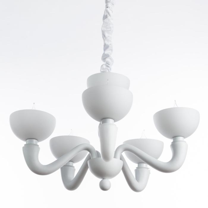 Подвесной светильник Divinare 7091/01 LM-5, белый подвесная люстра divinare bianca nero 7091 04 lm 5