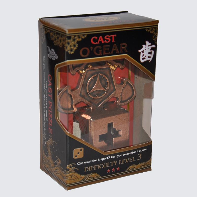 Головоломка Hanayama (Япония) О'Геар***/ Cast Puzzle O'Gear*** cast puzzle головоломка новости