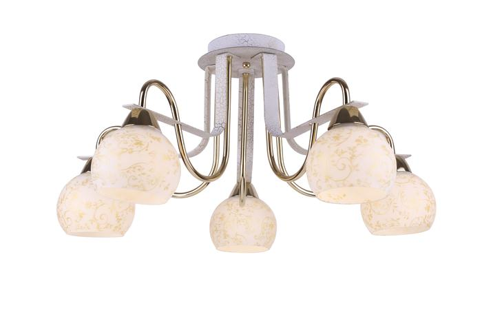 купить Потолочный светильник Arte Lamp A8181PL-5WG, золотой по цене 2600 рублей