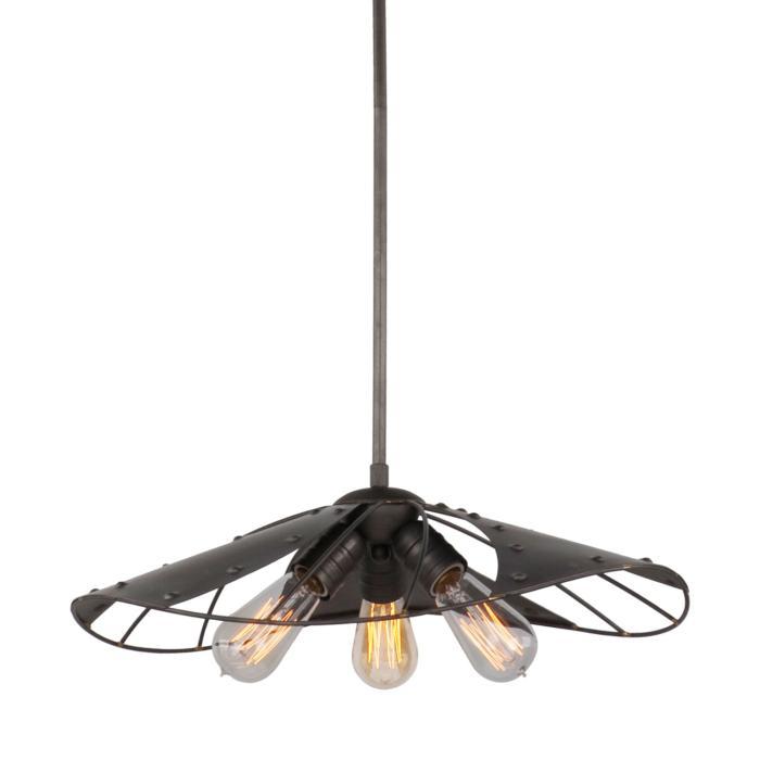 Подвесной светильник Lussole LSP-9662, коричневый подвесная люстра lussole loft lsp 9662