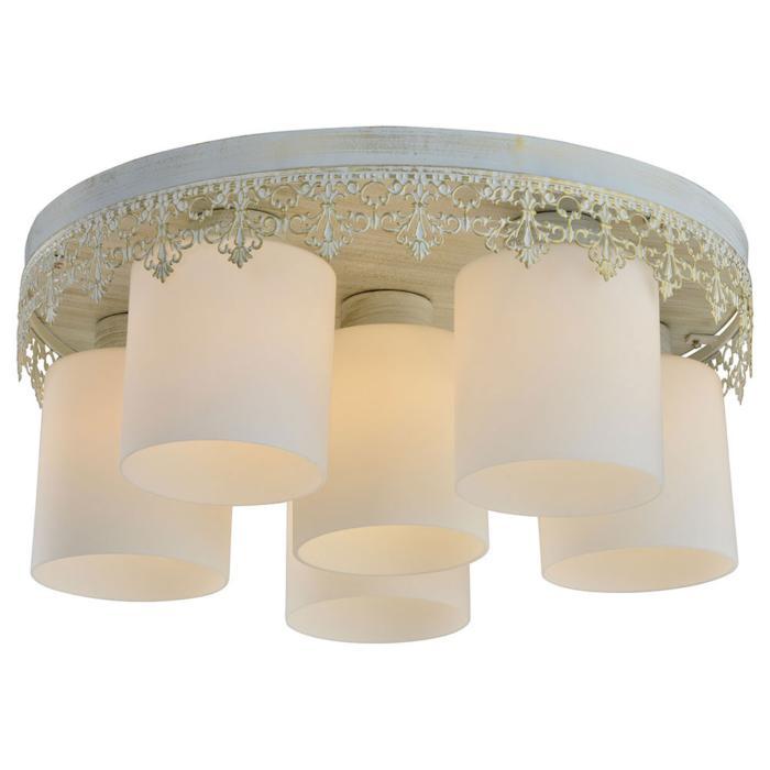 цена на Потолочный светильник Lussole LSP-0048, белый