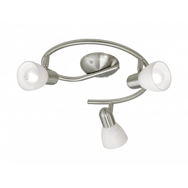 Настенно-потолочный светильник Eglo 88475, серый металлик светильник спот eglo dakar 87082