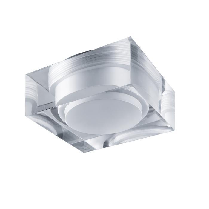 Встраиваемый светильник Lightstar 070244, серый металлик встраиваемый светильник lightstar artico qua 070244