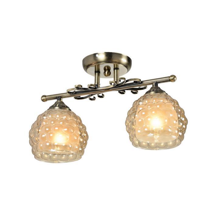 Потолочный светильник Idlamp 285/2PF-Oldbronze, бронза цена