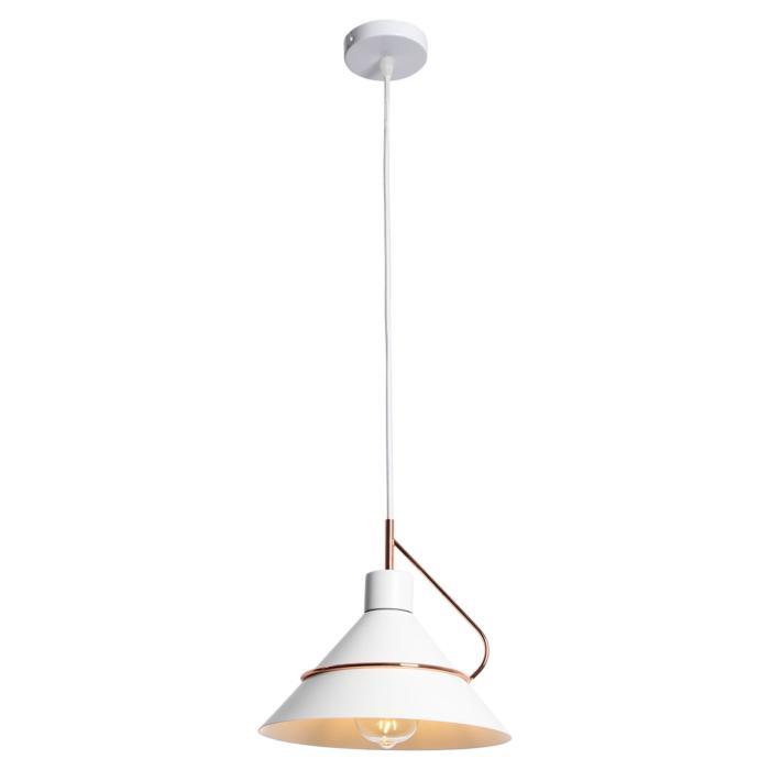 Подвесной светильник Lussole LSP-8264, белыйLSP-8264Подвесной светильник Lussole LSP-8264 серии Bossier в современном стиле подчеркнет индивидуальность вашего интерьера.