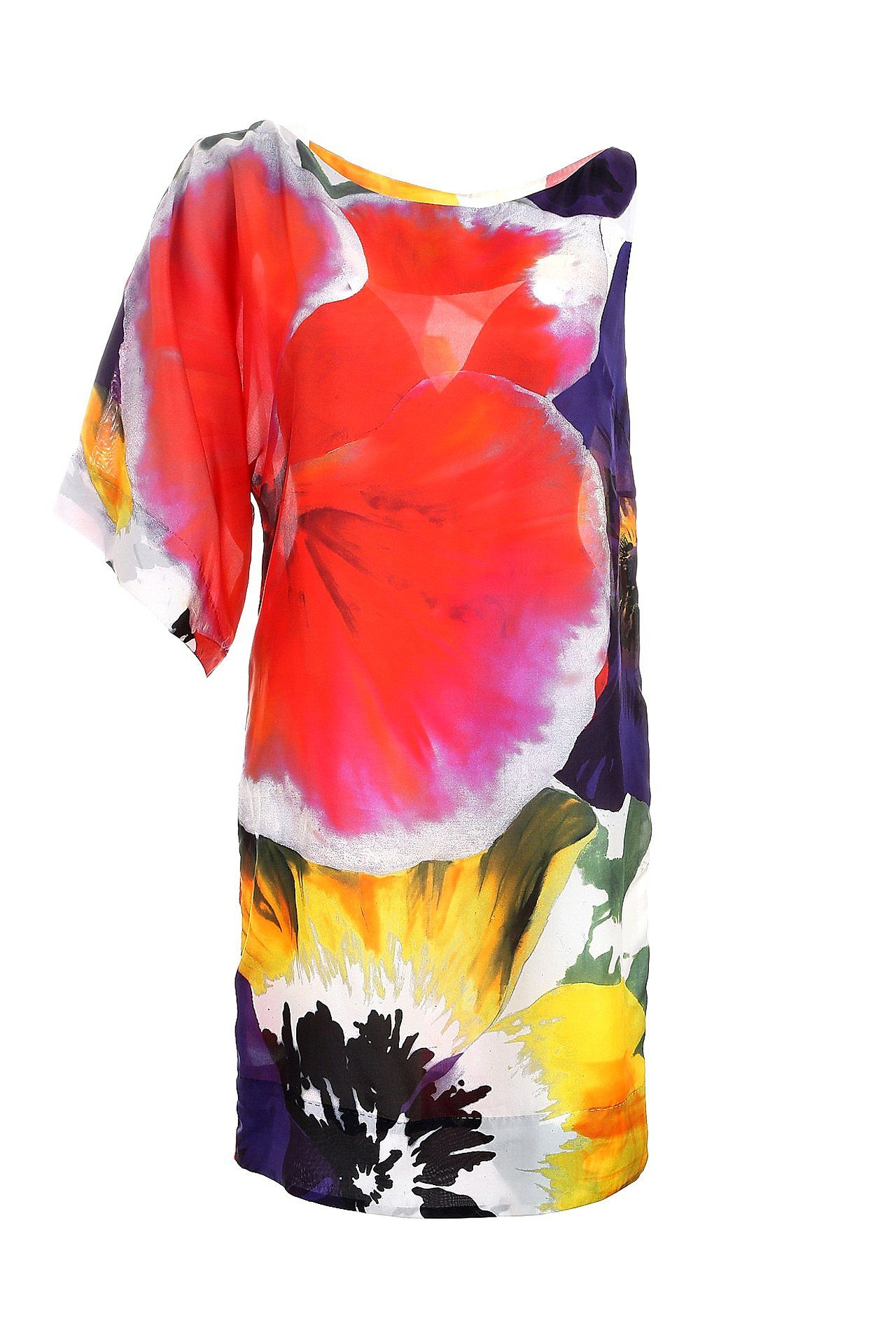 Платье F.EGIDIO ez combs заколка изи комбс одинарная цвет черный зио красные цветы