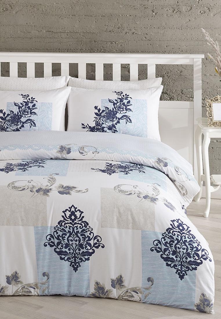 цена на Комплект постельного белья Arya home collection Blanche, белый