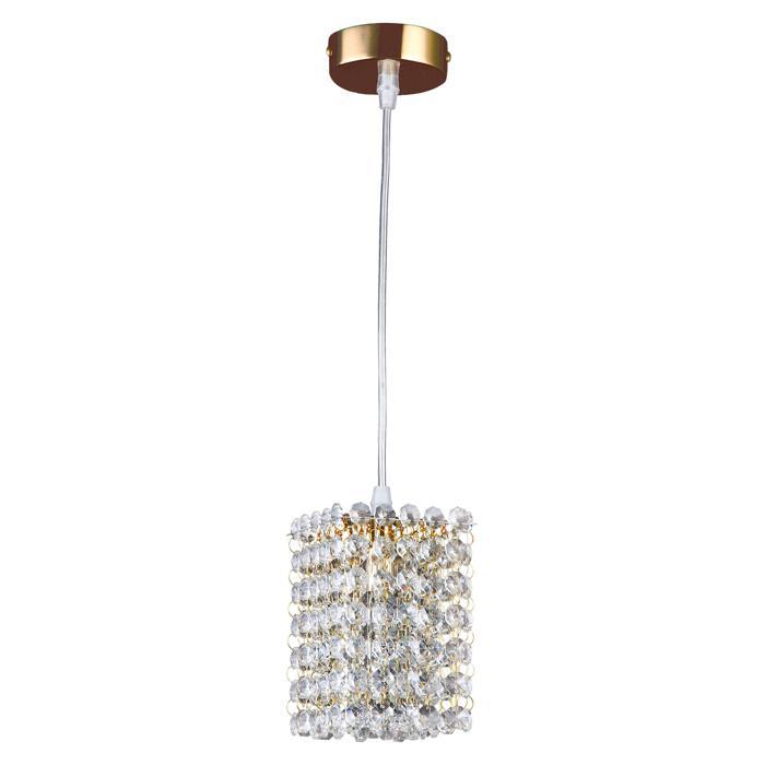 Подвесной светильник Lightstar 795412, золотой795412Подвесной светильник Lightstar 795412 серии Cristallo в стиле арт-деко подчеркнет стиль помещения. Размеры (Диаметр х Высота) 100х1300 мм.