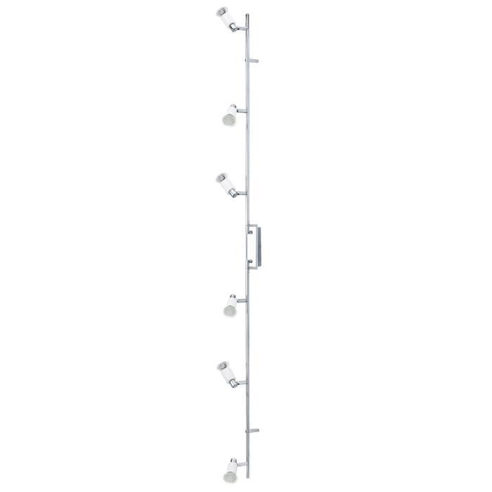 Настенно-потолочный светильник Eglo 90836, серый металлик настенно потолочный светильник eglo 95633 серый металлик