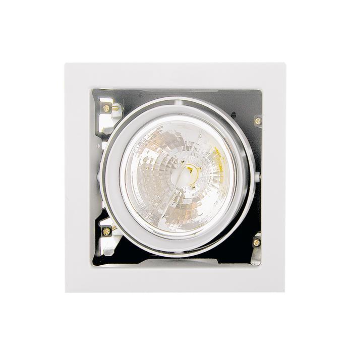 Встраиваемый светильник Lightstar 214110, белый встраиваемый спот точечный светильник lightstar cardano 16 x1 bianco 214010