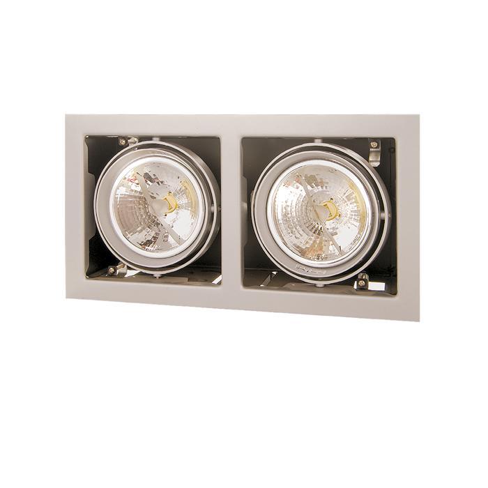 Встраиваемый светильник Lightstar 214127, серый встраиваемый спот точечный светильник lightstar cardano 16 x1 bianco 214010