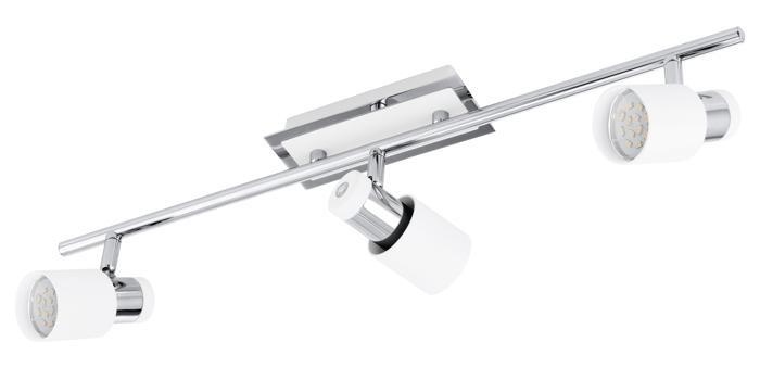 Настенно-потолочный светильник Eglo 92086, серый металлик eglo светильник спот eglo 31264