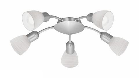 Потолочный светильник Eglo 88476, серый металлик светильник спот eglo dakar 87082