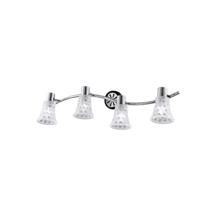 Настенно-потолочный светильник Idlamp 363/4B-Blackchrome, серый металлик спот idlamp tonia 363 3b blackchrome