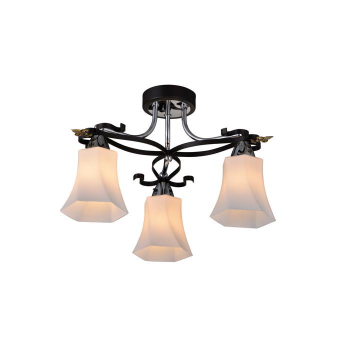 Потолочный светильник Idlamp 849/3PF-Dark, черный idlamp 860 860 3pf dark