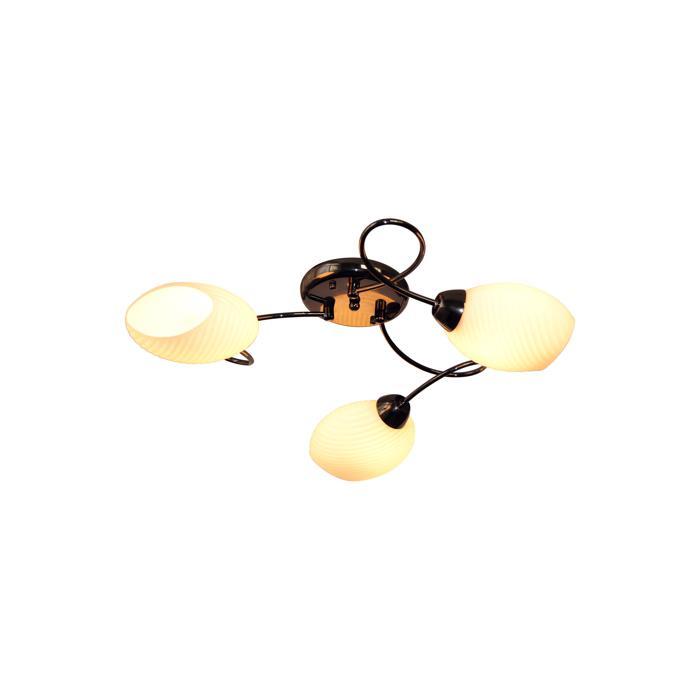 Потолочный светильник Idlamp 853/3PF-Blackchrome, серый металлик цена