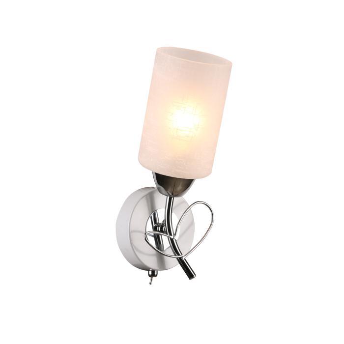 Бра Idlamp 841/1A-Whitechrome, серый металлик idlamp 913 1a whitechrome