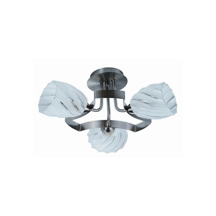 Потолочный светильник Idlamp 601/3PF-MOONWhitechrome, серый металлик цены