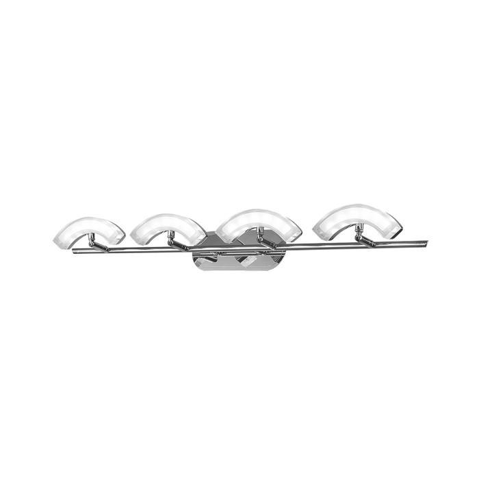 Настенно-потолочный светильник Idlamp 350/4A-Chrome, серый металлик цена