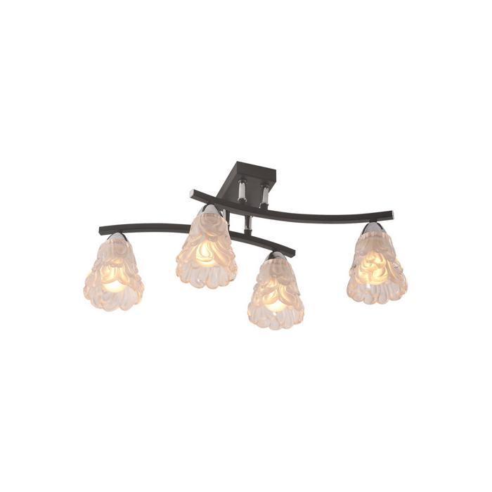 Потолочный светильник Idlamp 217/4PF-Blackchrome, серый металлик цена