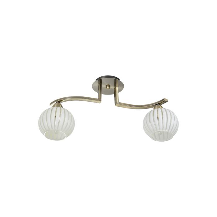 Потолочный светильник Idlamp 863/2PF-Oldbronze, бронза люстра на штанге idlamp 863 863 3pf oldbronze