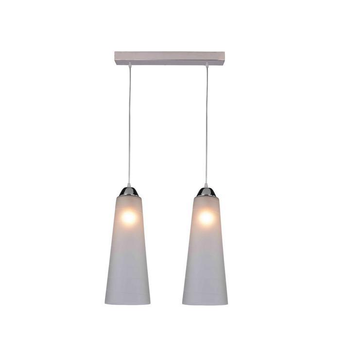 Подвесной светильник Idlamp 236/2-Chrome, серый металлик подвесной светильник idlamp iris glos 236 2 chrome