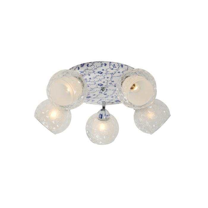 Потолочный светильник Idlamp 876/5PF-Whiteblue, голубой цена