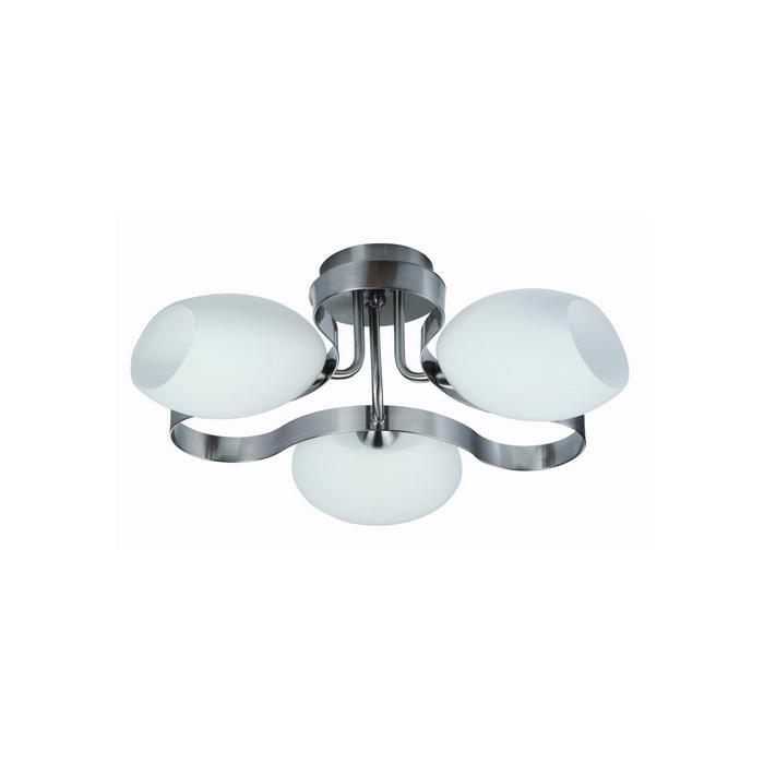 Потолочный светильник Idlamp 601/3PF-SUNWhitechrome, серый металлик цены