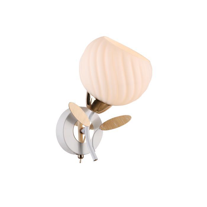 Бра Idlamp 821/1A-Whitegold, золотой бра idlamp annelisa 380 1a whitegold