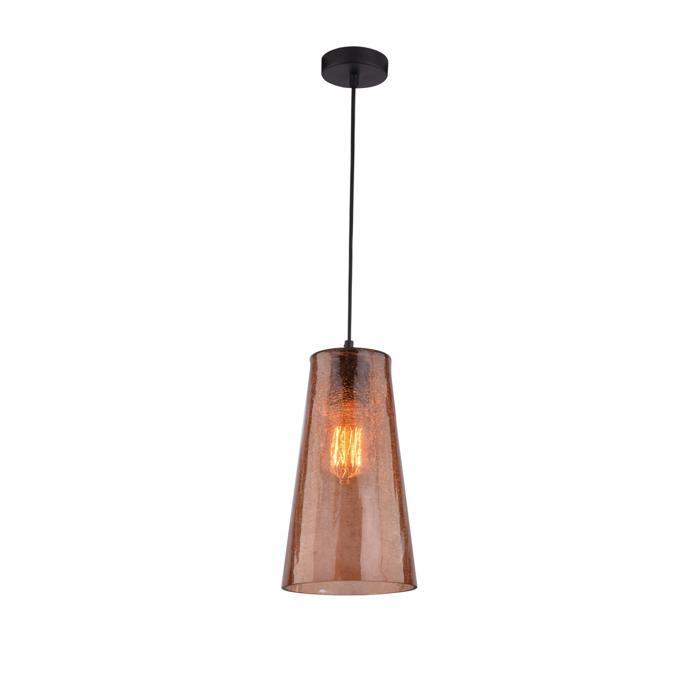 Подвесной светильник Idlamp 243/1-Brown, серый металлик243/1-BrownПодвесной светильник Idlamp 243/1-Brown серии Iris color в стиле модерн подчеркнет индивидуальность вашего интерьера. Размеры (ДхШхВ) 160х160х1000 мм.