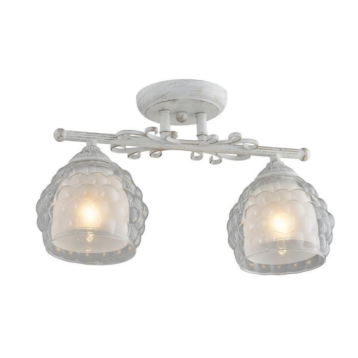 Настенно-потолочный светильник Idlamp 285/2PF-Whitepatina, белый цена